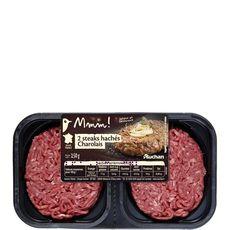 Mmm! steack haché charolais 12%mg  2x125g