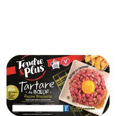 TENDRE ET PLUS Tendre et Plus tartare façon brasserie x2 -260g