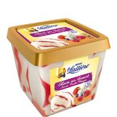 Nestlé La Laitière dégustation glace yaourt coulis fruit rouge 430g