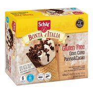 Schar cône vanille et chocolat sans gluten 420g