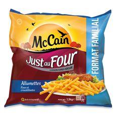 MC CAIN McCain just au four la frite allumette 1,5kg