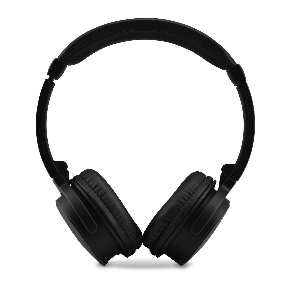 Casque audio Bluetooth - Noir - Q.1382
