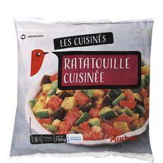 AUCHAN Ratatouille cuisinée 4 portions 750g