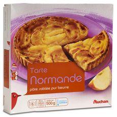 Auchan tarte normande 500g