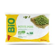 Auchan bio petits pois  600g