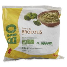 AUCHAN BIO Auchan bio Purée de brocolis 600g 3 portions 600g