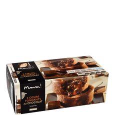 Auchan Gourmet Coeur fondant au chocolat 190g