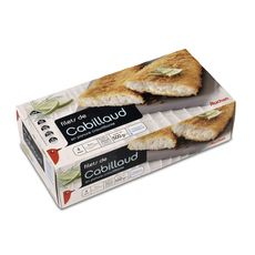 Auchan filet de cabillaud panés 500g