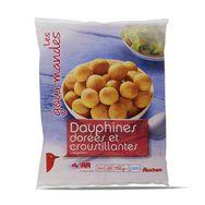 Auchan pommes dauphine 750g