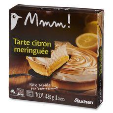 Gourmet AUCHAN GOURMET Tarte au citron meringuée
