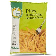 AUCHAN ESSENTIEL Frites 2,5kg