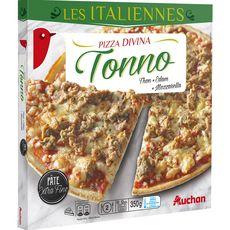 AUCHAN Pizza au thon 350g
