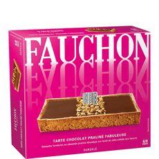 Fauchon tarte savoureusement chocolat praliné 430g