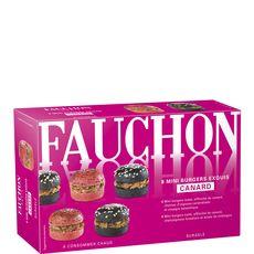 Fauchon Mini burger exquis au canard 100g