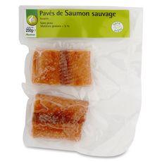 Pouce pavés de saumon sauvage du pacifique x2 -250g