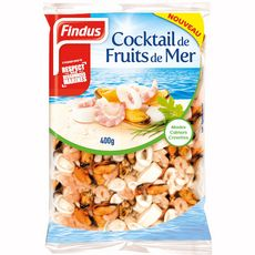 Findus cocktail fruits de mer 400g