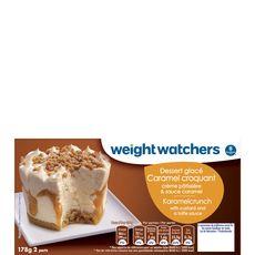 WEIGHT WATCHERS Weight Watchers dessert glacé au caramel 178g