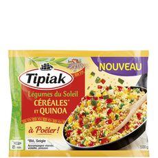TIPIAK Tipiak Légumes du soleil céréales et quinoa à poêler 500g 3-4 portions 500g