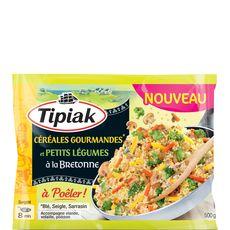 TIPIAK Tipiak poêlée céréales gourmandes petit légume à la bretonne 500g 500g
