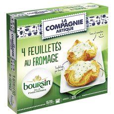 COMPAGNIE ARTIQUE Compagnie de l'Artique panier fromage boursin x4 -320g 4 pièces 320g