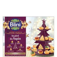BLINI Blini coffret sapin +présentoir 430g
