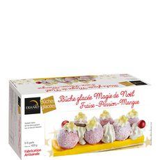 EHRARD Bûche glacée Magie de Noël fraise passion mangue 5-6 parts 420g