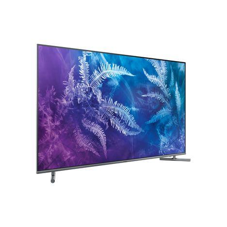 qe65q6f 2017 tv qled 165 cm hdr smart tv argent samsung pas cher prix auchan. Black Bedroom Furniture Sets. Home Design Ideas