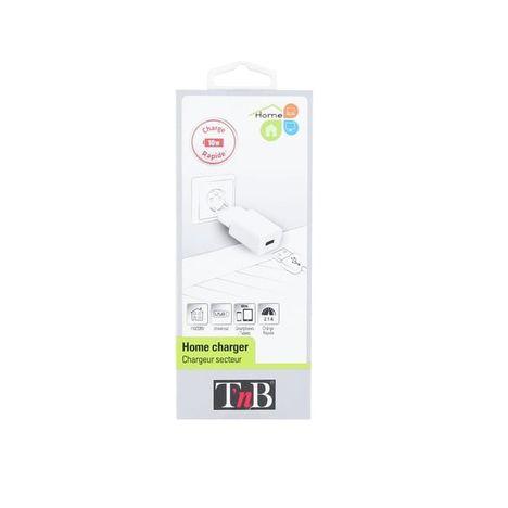 TNB Chargeur secteur 2.1A - Blanc