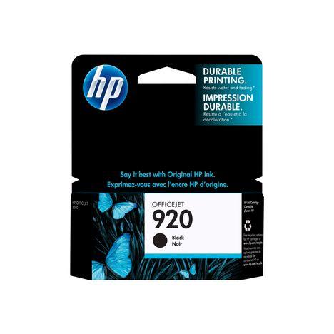 HP Cartouche Pack Noir 920XL