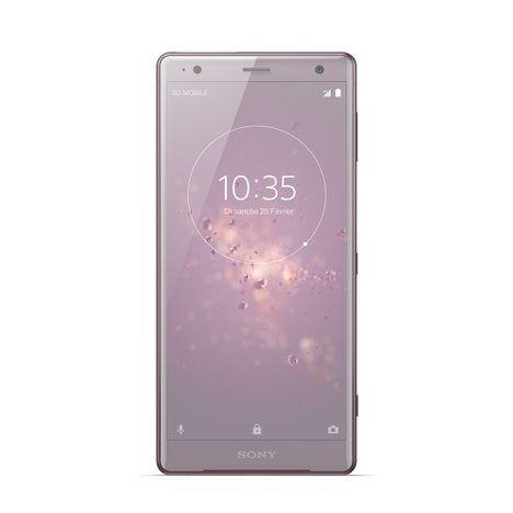 SONY Smartphone XZ2 - 64 Go - 5,7 pouces - Rose lilas