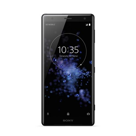SONY Smartphone XZ2 - 64 Go - 5,7 pouces - Noir
