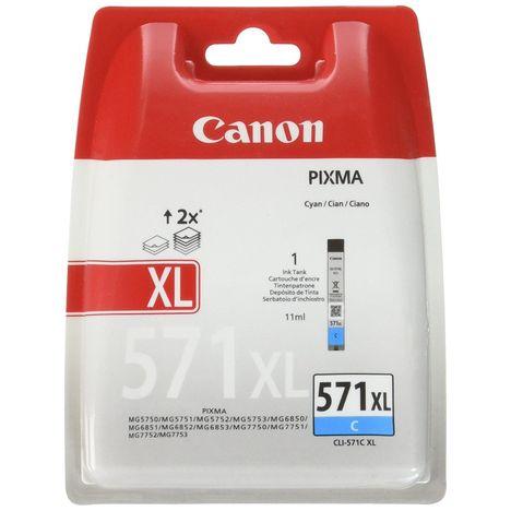 CANON Cartouche d'encre CLI-571C XL - Cyan