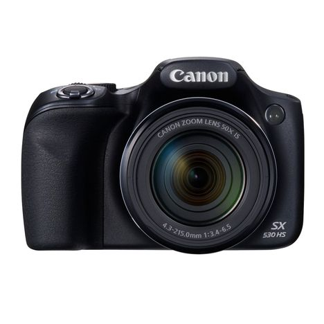 CANON Appareil Photo Bridge - PowerShot SX530 HS - Noir