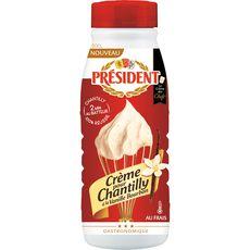Président crème sucre vanillé 50cl