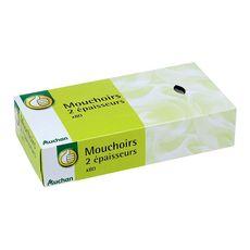 POUCE Pouce Boîte de mouchoirs blancs 2 épaisseurs x80 80 mouchoirs