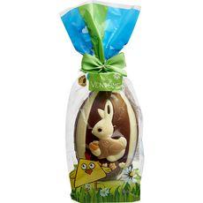 VENDOME Oeuf en chocolat décoré sur socle 200g