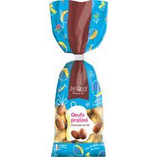 JACQUOT Œufs pralinés aux chocolats au lait 250g