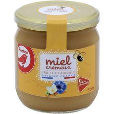 Auchan miel crémeux de fleurs 500g