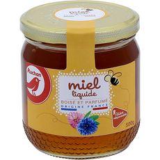 Auchan miel de fleurs sauvages de France 500g