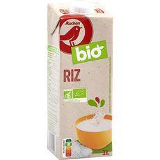 AUCHAN BIO Boisson au riz aromatisée 1l