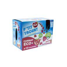 P'tit Fruité yaourt fraise framboise 10x90g