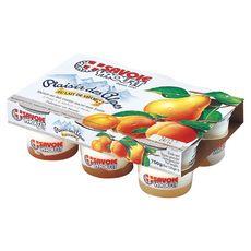 Savoie yaourt  Plaisir des Alpes fruits jaune 6x125g