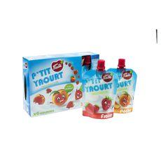 P'tit  Fruité yaourt fraise et pêche 6x90g