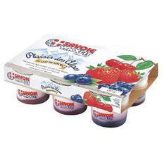 Savoie yaourt Plaisir des Alpes fruits rouges 6x125g
