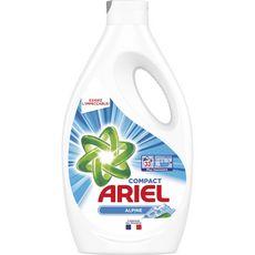 Ariel lessive liquide alpine lavage x33 -1,815l