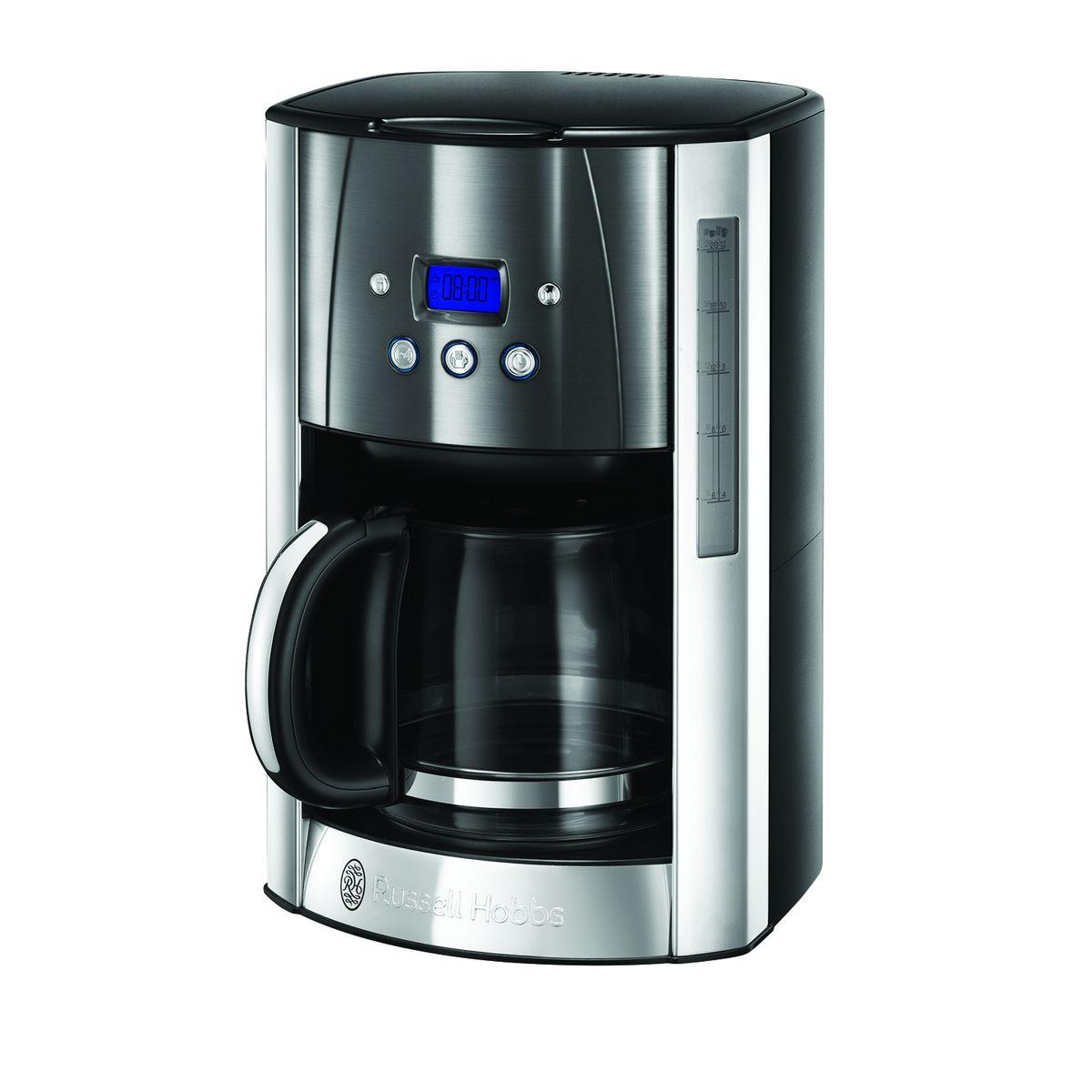 Cafetière programmable Luna 23241-56 - Gris et Inox