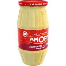 Amora moutarde de dijon fine et forte bocal 440g