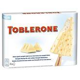 Toblerone bâtonnet chocolat blanc x4 -264g