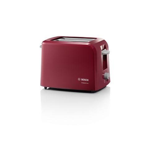 BOSCH Toaster CompactClass TAT3A014 rouge