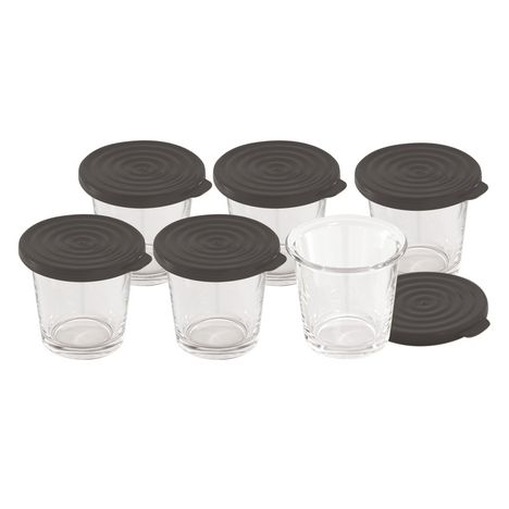 MOULINEX Lot de 6 verrines XA606000 pour Cookeo